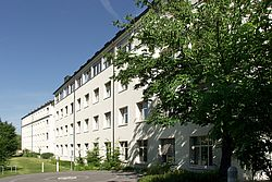 Gebäudeansicht KfH-Gesundheitszentrum Straubing