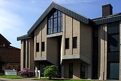 Gebäudeansicht KfH-Nierenzentrum Linnich