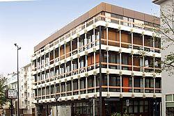 Gebäudeansicht KfH-Nierenzentrum Ludwigshafen