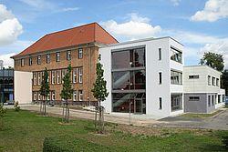 Gebäudeansicht KfH-Nierenzentrum Seelow