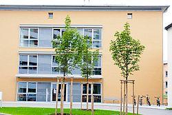 Gebäudeansicht KfH-Nierenzentrum Ebersberg