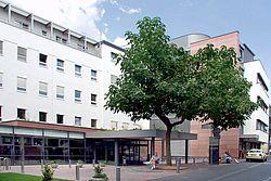 Gebäudeansicht KfH-Nierenzentrum Bingen