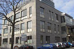 Gebäudeansicht KfH-Nierenzentrum für Kinder und Jugendliche Köln