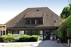 Gebäudeansicht KfH-Nierenzentrum Tutzing