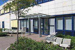 Gebäudeansicht KfH-Nierenzentrum Stralsund