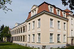 Gebäudeansicht KfH-Nierenzentrum für Kinder und Jugendliche Leipzig