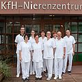 Team des KfH-Nierenzentrums Lohr