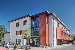 Gebäudeansicht KfH-Gesundheitszentrum Krefeld