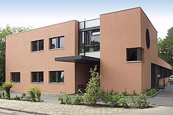 Gebäudeansicht KfH-Nierenzentrum Eberswalde