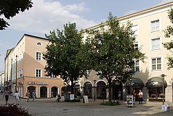 Gebäudeansicht KfH-Nierenzentrum Bad Reichenhall