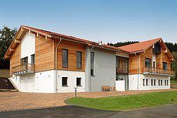 Gebäudeansicht KfH-Nierenzentrum Sankt Englmar