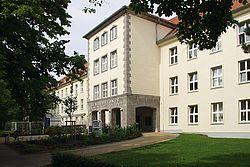 Gebäudeansicht KfH-Nierenzentrum für Kinder und Jugendliche Rostock
