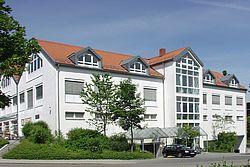 Gebäudeansicht KfH-Nierenzentrum Unterhaching