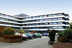 Gebäudeansicht KfH-Nierenzentrum Idar-Oberstein