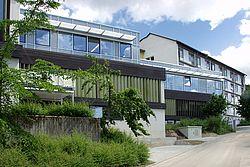 Gebäudeansicht KfH-Nierenzentrum Kelheim