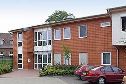 Gebäudeansicht KfH-Nierenzentrum Wismar