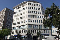Gebäudeansicht KfH-Nierenzentrum Frankfurt an der Oder