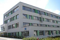 Gebäudeansicht KfH-Nierenzentrum Ehingen