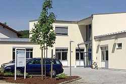 Gebäudeansicht KfH-Nierenzentrum Trostberg