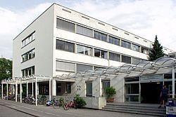 Gebäudeansicht KfH-Dialysezentrum für Kinder und Jugendliche Erlangen