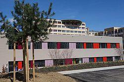 Gebäudeansicht KfH-Nierenzentrum für Kinder und Jugendliche Memmingen