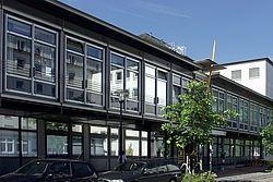 Gebäudeansicht KfH-Nierenzentrum für Kinder und Jugendliche Essen