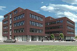 Gebäudeansicht KfH-Nierenzentrum Geldern