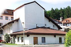 Gebäudeansicht KfH-Nierenzentrum Oberstaufen