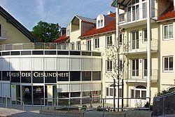 Gebäudeansicht KfH-Nierenzentrum Miesbach