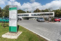 Gebäudeansicht KfH-Nierenzentrum Gummersbach